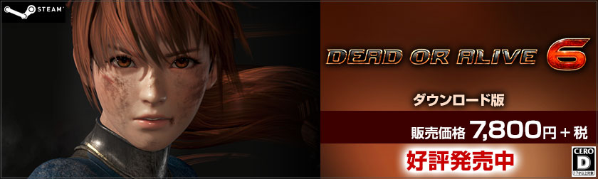 DEAD OR ALIVE 6 GAMECITYダウンロード版