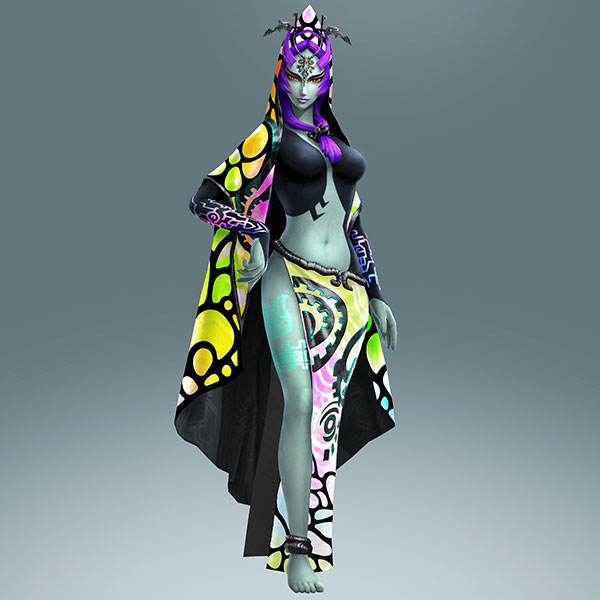 Image result for hyrule warriors twili midna
