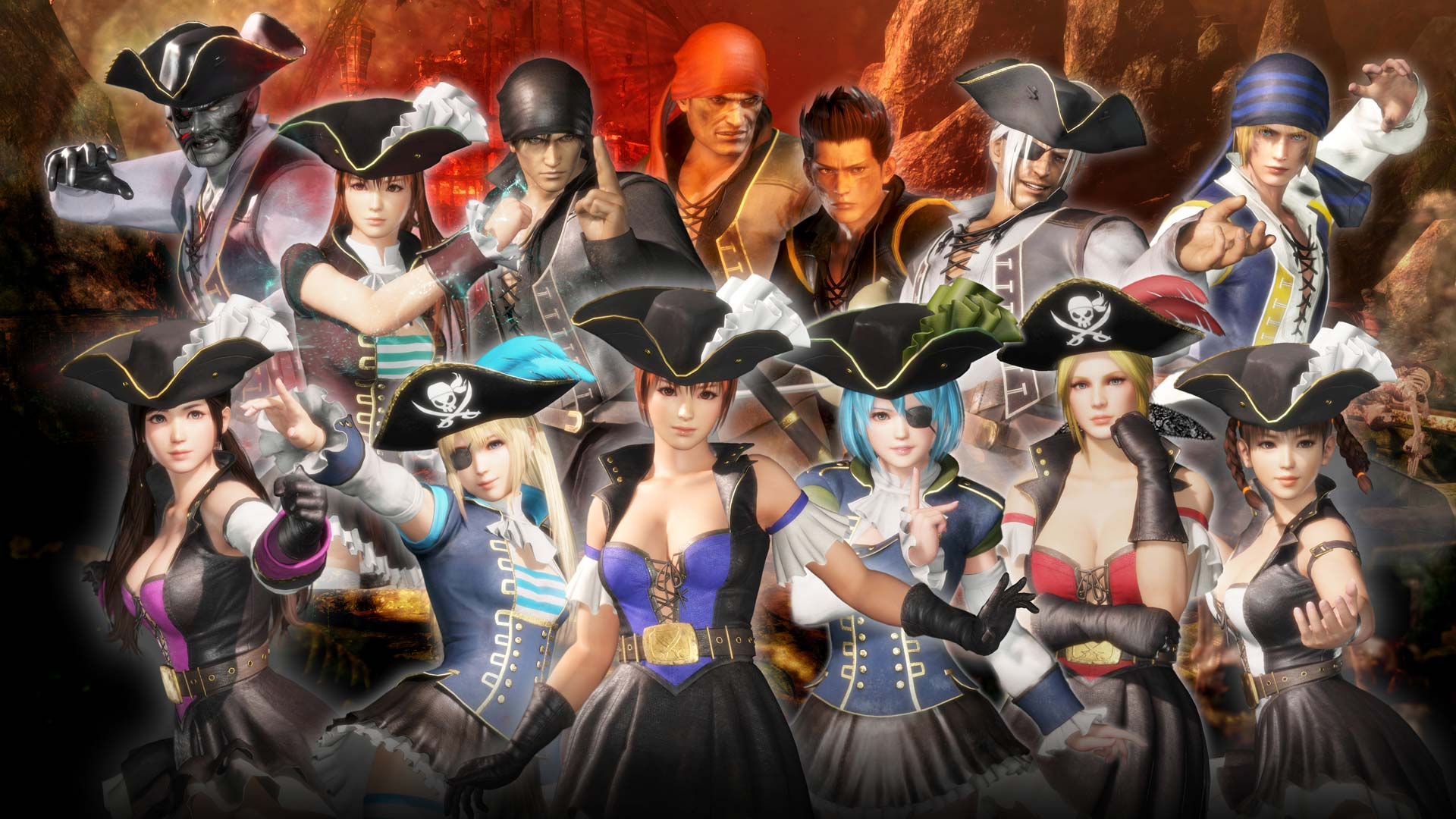 Dead Or Alive 6 公式サイト Top