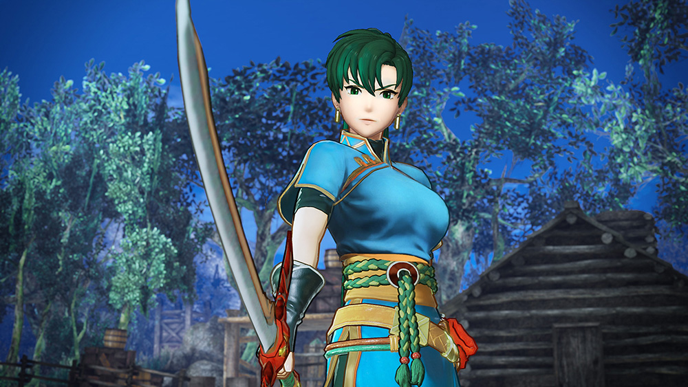 Official screenshot of Lyn, one of the FEWarriors characters Cedi is most interested in playing as.