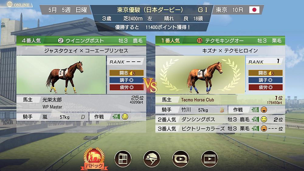馬 ウイニングポスト 9 史実